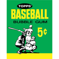 Topps: Baseball Bubble Gum 5c 1964