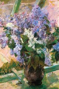 Flowers in The Window by Mary Cassatt