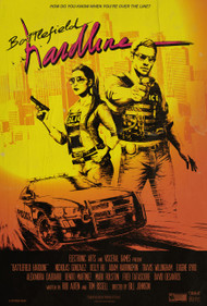 Battlefield Hardline 80's Poster Design