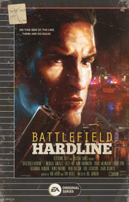 Battlefield Hardline VHS Box Design