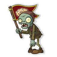 Plants vs. Zombies 2: Peasant Flag Zombie