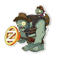 Plants vs. Zombies 2: Wild West Gargantuar