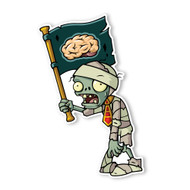Plants vs. Zombies 2: Mummy Flag Zombie