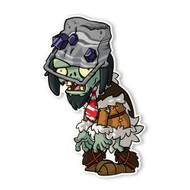Plants vs. Zombies 2: Cave Buckethead Zombie