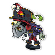 Plants vs. Zombies 2: Pirate Captain Zombie