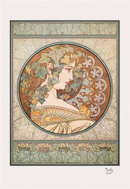 Laurel by Alphonse Mucha