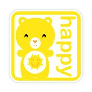 Yummi Bear Funshine Happy Badge