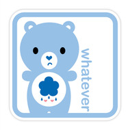Yummi Bear Grumpy Whatever Badge
