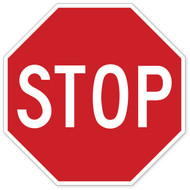 Stop Sign Wall Graphic