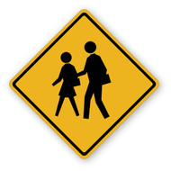 School Crossing Wall Graphic