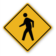 Walk Man Sign Wall Graphic