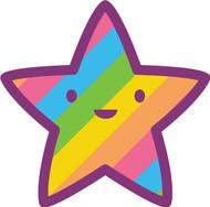 Kawaii Nature Rainbow Star
