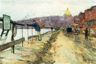 Charles River & Beacon Hill by Hassam