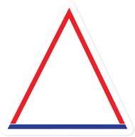 Isosceles Triangle Wall Graphic