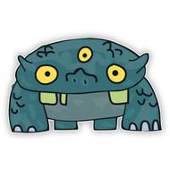Green Reptile Monster (Three Eyes)
