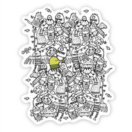 Doodle Jump Wall Badge: Where's Doodle Jump?