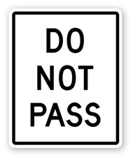 Do Not Pass Wall Graphic