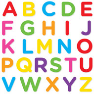Alphabet Set II (Uppercase Mixed Colors)