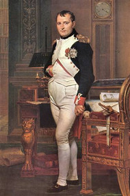 Portrait Of Napoleon in His Work Room by David
