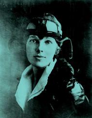 Amelia Earhart I (Multiple Color Options)