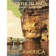 Apostle Islands National Lakeshore by Dan Gardiner