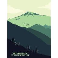 Mount Rainier National Park by Agustin Coneras