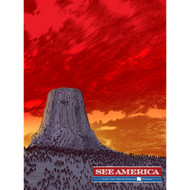 Devil's Tower National Monument by Brixton Doyle