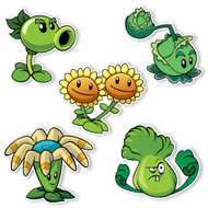 Plants vs. Zombies 2: Plant Set 1 (5 Plants 4.25 to 7 inches longest side)