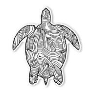 Begsonland Turtle Doodle Decal