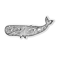 Begsonland Whale Doodle Decal