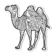 Begsonland Camel Doodle Decal