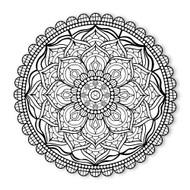 Begsonland Mandala Flower Doodle Decal