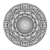 Begsonland Mandala Sun Doodle Decal