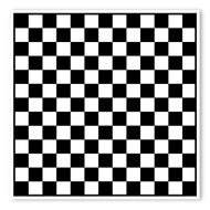 Begsonland Checker Board Doodle Decal