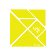 CrayoIa Wall Tangram: I AM Laser Lemon