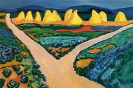 Vegetable Fields by Gustav Klimt