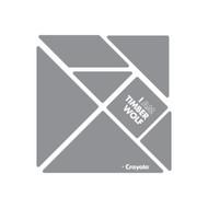 CrayoIa Wall Tangram: I AM Timber Wolf