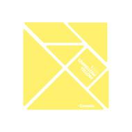 CrayoIa Wall Tangram: I AM Unmellow Yellow
