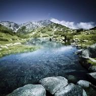 Ribno Banderishko River In Pirin National Park Bansko Bulgaria