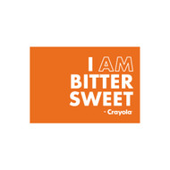 Crayola Colors Wall Graphic: I AM Bitter Sweet