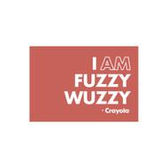 Crayola Colors Wall Graphic: I AM Fuzzy Wuzzy