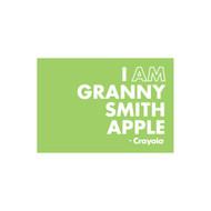 Crayola Colors Wall Graphic: I AM Granny Smith Apple