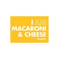 Crayola Colors Wall Graphic: I AM Macaroni & Cheese