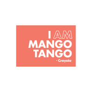 Crayola Colors Wall Graphic: I AM Mango Tango