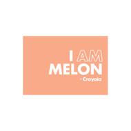 Crayola Colors Wall Graphic: I AM Melon