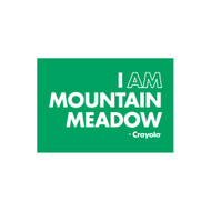 Crayola Colors Wall Graphic: I AM Mountain Meadow