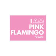 Crayola Colors Wall Graphic: I AM Pink Flamingo