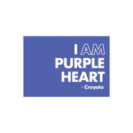 Crayola Colors Wall Graphic: I AM Purple Heart