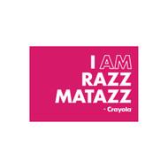 Crayola Colors Wall Graphic: I AM Razz Matazz