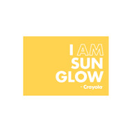 Crayola Colors Wall Graphic: I AM Sun Glow